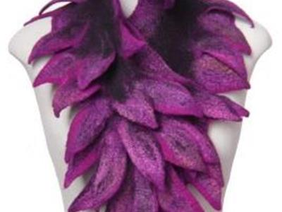 Scarves & Collars with 3D surfaces